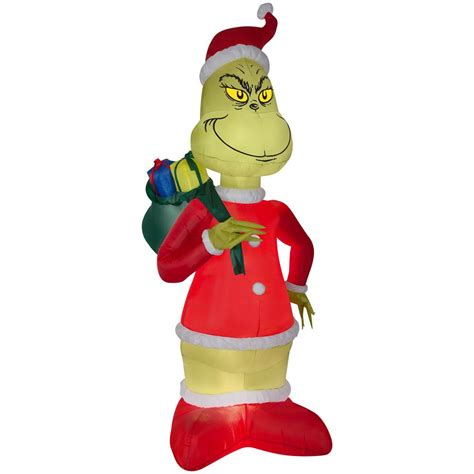 grinch inflatable christmas decoration canada www