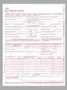 Blank CMS HCFA 1500 Claim Form PDF