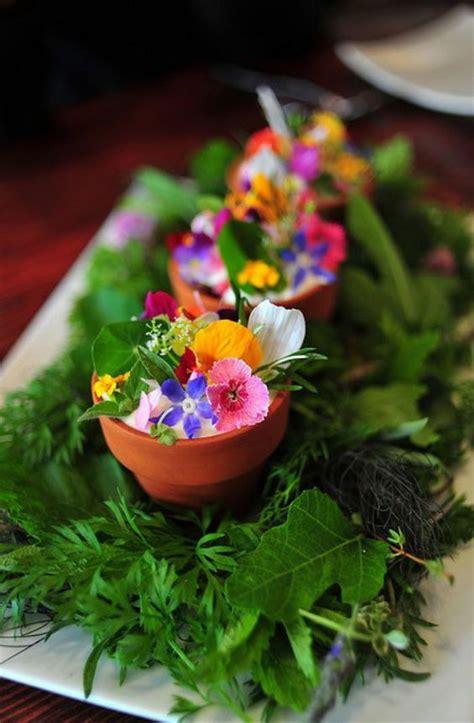 cuisine des fleurs comment cuisiner avec des fleurs comestibles