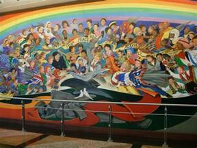 denver airport coffin murals denver international