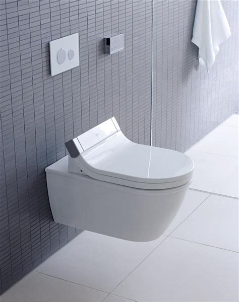 duravit darling new wall hung toilet with starck e shower toilet seat