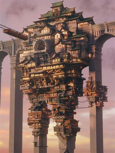 impressive minecraft builds amazing minecraft minecraft structures minecraft castle