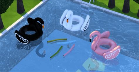 thai blouse pool floats and noodies at leo sims sims 4 updates