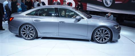 2019 Audi A6 Reveals Fresh Face And Four-Wheel Steering In ...