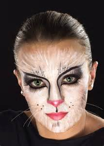 Halloween Cat Painted Face