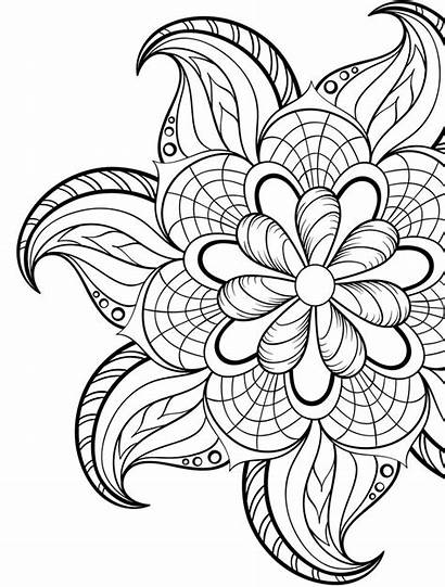 Coloring Adults Pages Attractive Fun