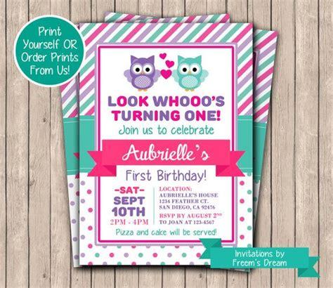 owl birthday invitations ideas  pinterest owl
