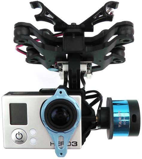 tarot gopro  axis stabilized brushless gimbal robotshop