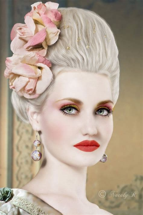 makeup for hair antoinette inspired makeup and hair simply it