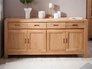 Buffet de salle a manger en bois pour deco cuisine idee for Deco cuisine pour salle a manger en chene