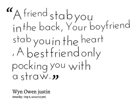 Quotes About Best Friends Back Stabbing You