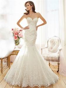 strapless mermaid wedding dress with chapel train With adding beading to wedding dress