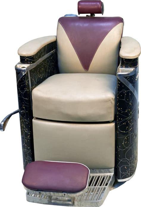 Koken Barber Chair President Model by Koken Quot President Quot Deco Barber Chair Lot 1359