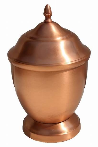 Urn Pet Spun Copper Hand Urns Cu