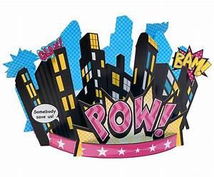 Superhero Girl Centerpiece BirthdayExpress com