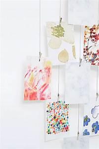 Fil Accroche Photo : accrocher photos cadres posters ou de l 39 art vos murs ~ Premium-room.com Idées de Décoration