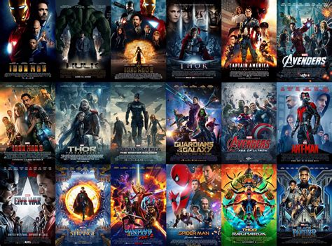 mcu news tweets  twitter  theatrical posters