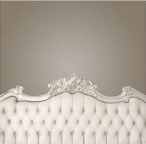 Luxury, Furniture, White, Bedroom, Headboard, Wall, Photography, Backdrops, Newborn, Baby, Photo