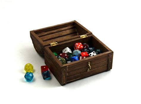 dungeons  dragons dice box medium wooden dice box dnd