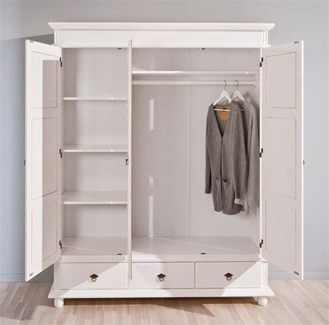 Kleiderschrank Mit Türen by Kleiderschrank Danz 3 Schrank Mit 3 T 252 Ren Kiefer Wei 223