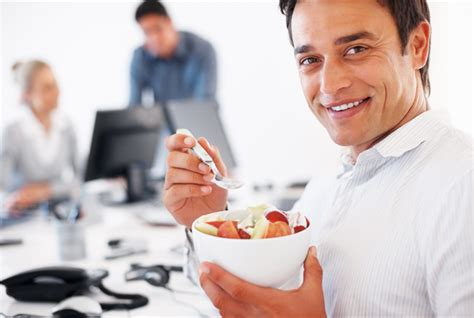 cooking at your desk eating healthy at work vision personal training