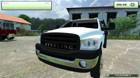 Farming Simulator 2013- Sterling 5500, Dodge 3500, Ford F