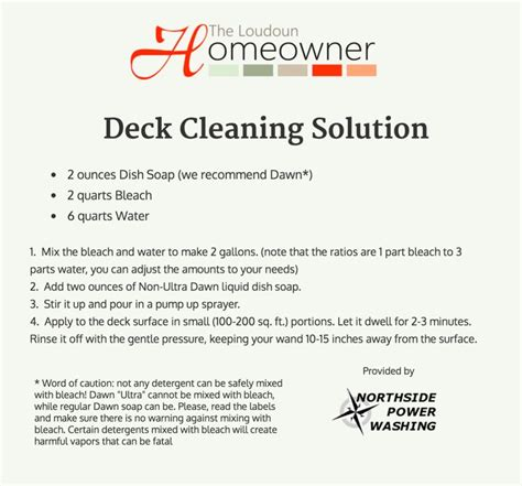 Cleaning Deck With Solution best 25 deck cleaning ideas on privacy wall