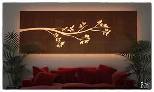 Wall Light Panel Silhouette Cnc Template Cutting File