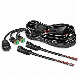 Connector Wiring Harness Kit Led Light Bar 12v On Off