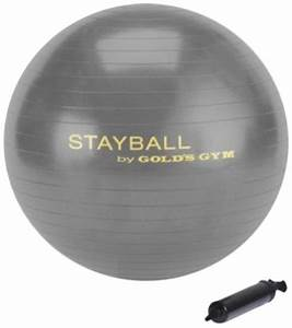 Fitness Equipment Review: Gold's Gym Stayball – Be a Game ...