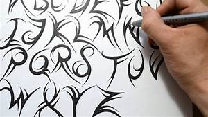 Cool Writing Styles To Draw How To Draw Cool Letters On ...