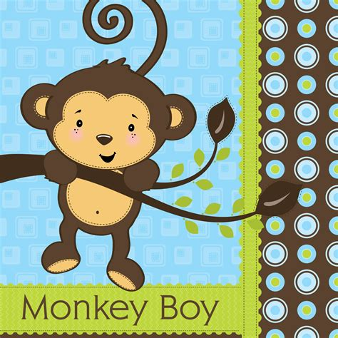 Monkey Baby Shower  Party Favors Ideas