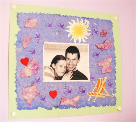 creer cadre photo atelier papier recycl 233 pour cr 233 er un cadre photo originale