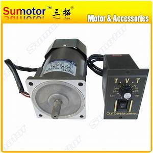 120w Ac 220 240v 50  60hz High Rpm High Torque Electric Motor With Speed Controller Cw Ccw