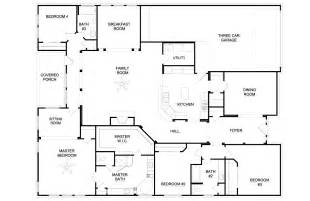 Of Images Bedroom Home Floor Plans by Home Design 79 Terrific House Plans Single Storys