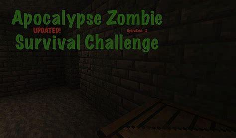 Apocalypse [zombie Survival Challenge] Minecraft Project