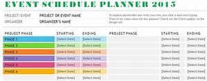 Schedule Plan Template schedule template free