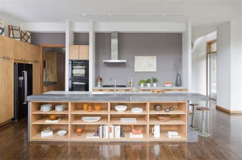 kitchen sink backs up into other side 125 awesome kitchen island design ideas digsdigs