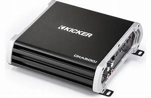 Kicker 43dxa5001 Car Audio Class D Subwoofer Amplifier