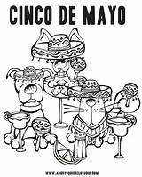Coloring Mayo Cinco Pages Margarita Printable Derby Kentucky Squirrel Pdf Happy Downloads Getcolorings Getdrawings Animals Weekend Colorings Mexican sketch template