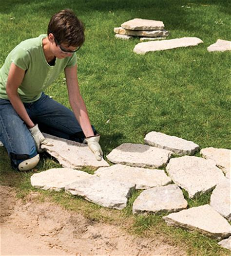 laying flagstone in sand flagstone laying patterns lena patterns