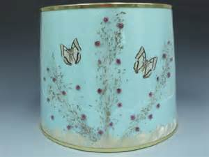 an original van briggle butterfly lamp shade lot 328