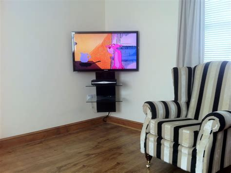 tv mount installation cable trunking wall mounted tv