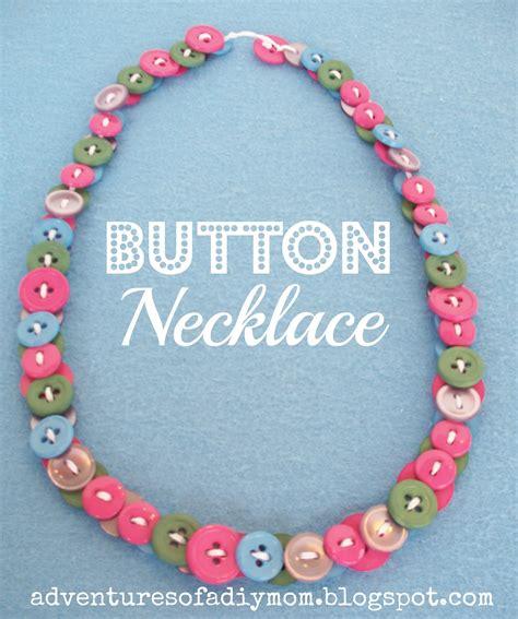 Button Necklaces  Adventures Of A Diy Mom