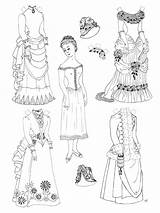 Dolls Doll Paper Coloring Printable Printables Template Victorian Colouring Princess Cut Clothes Colour Colorable Adult Paperdoll Gift Bestcoloringpagesforkids Paperdolls Blank sketch template