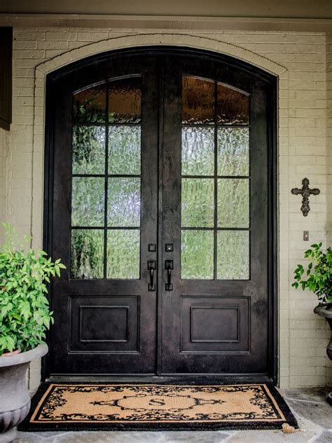 amusing double front doors  homes traditional exterior