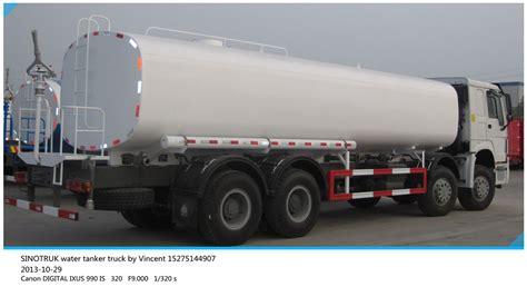 sinotruk camion citerne d eau 6 4 13m3 citern chariot d