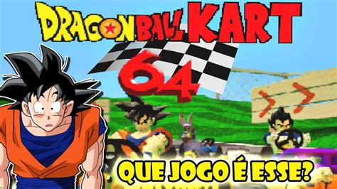 ¡disfruta ya de este juegazo de mario bros! Que jogo é esse? EP. 04 - Dragon Ball Kart 64 - YouTube