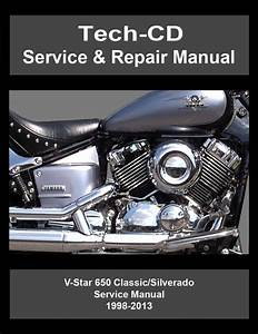 Yamaha V Star 650 Classic Silverado Service Repair Manual