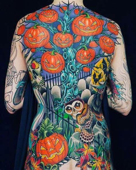30 Awesome Halloween Tattoos  Best Tattoo Ideas Gallery